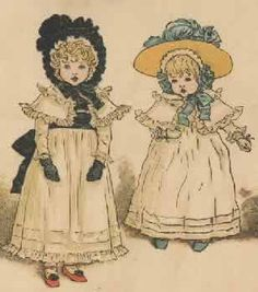 Kate Greenaway...my favorite children's book illustrator.