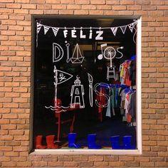 vitrines inspiradoras para o dia dos pais