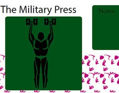 """Check out new work on my @Behance portfolio: """"The military workout page from icon book."""" http://on.be.net/1EVumuY"""