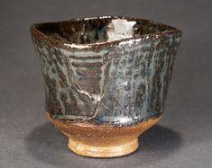 "Wood fired Yunomi ""Blue Ash"", Tea Bowl by Paul Fayman"