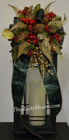 Lantern Swag, Lantern centerpiece, lantern decor, Christmas swag, Chrismtas wedding, Christmas lantern swag, Christmas centerpiece, Christmas mantel, Christmas mantle, holiday mantel, holiday mantle, Christmas lantern centerpiece, Christmas decor, holiday swag, holiday lantern swag, holiday centerpiece, floral swag, lantern floral swag, wedding lantern, wedding lantern swag #christmascenterpiece #lanternswag #lanterncenterpiece #floralswag #christmaswedding