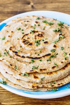 Paleo Indian-style naan bread is great with soups, stews, curries, and even as bread for sandwiches and burgers!