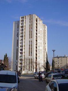 Skyscraper in Pula / Croatia / #socialist #brutalism #architecture