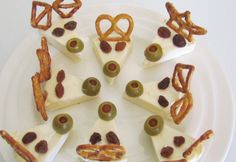 Christmas cheese reindeer - Real Recipes from Mums
