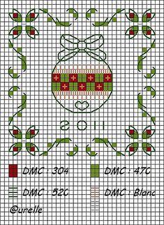 Cross stitch ornament #cross-stitch #chart