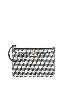 Anne Klein Frances Geo Cube Wristlet Women's Grey Multi