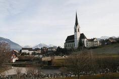 Frastanz, Vorarlberg, Austria. My father's family is from this region.