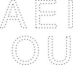 Resultado de imagen para ACTIVIDADES CON las vocales mayusculas con dibujos