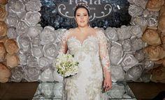 Estilista Fernando Peixoto apresenta coleção de noivas #plussize durante o #luxodefesta na #casacorbrasilia. Veja galeria completa em www.luxodefesta.com | Ph: @brunoeaguiar