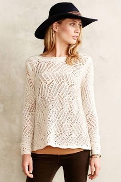 Anthropologie Angel of the North Amanecer Pullover