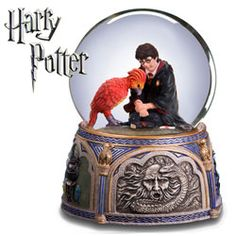 NIB Harry Potter With Fawkes Chamber of Secrets San Francisco Music Box Company Harry Potter Snow Globe, Harry Potter Items, Images Harry Potter, Harry Potter Merchandise, Harry Potter Decor, Harry Potter Universal, Harry Potter World, Harry Potter Collection, Snow Globes