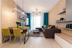 Scoate nasul pe geam. Știm, știm, nu-i plăcut și totul parcă a înghețat. Nu mai există strop de culoare și de veselie. E rece de tot. Acum intră înapoi în casă și dă un scroll mic-mic. Uite ce mixcromatic ți-am Brick Wall, Color Combos, Home Goods, Ikea, Sweet Home, Dining, Living Room, Interior Design, Cool Stuff