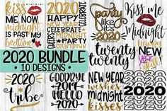 Each and every day I will give you FREE SVG file. All of these freebies can be used for personal use only. These cu. Free Svg Cut Files, Svg Files For Cricut, Cricut Fonts, New Years Eve Shirt, New Year 2020, Svg Cuts, Design Bundles, Free Design, Party