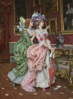 By Federico Andreotti .@@@@......http://www.pinterest.com/caroleminiature/histoire-de-femmes/