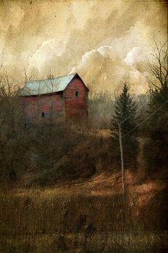 "This reminds me of my home village.    windypoplarsroom:    Jamie Heiden  ""Easily in the Quiet"""