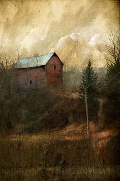 "This reminds me of my home village.    windypoplarsroom:    Jamie Heiden  ""Easily in the Quiet"""