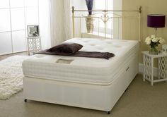 Apollo Beds Calypso 1500 Pocket Sprung & Memory Foam 5ft Kingsize Divan Bed