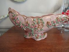 Stunning Beebe Porcelain Pink with Pink Roses