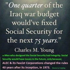 Social security.   Iraq war . Politics.  What really caused the deficit ....