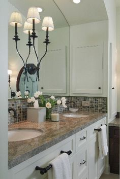 Bathroom Mirrors and Lighting — DESIGNED w/ Carla Aston
