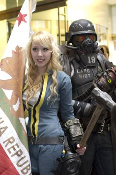 fallout cosplay  I know this girl, she has the most amazing fallout cosplays ever
