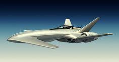 Skydrift airplanes on Behance