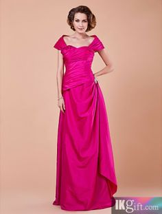 Gorgeous Sheath/Column Square Floor-length Chiffon And Lace Mother of the Bride Dress With A Wrap