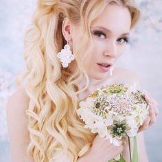 Svatba 2018 - sutaškové svatební náušnice Girls Dresses, Flower Girl Dresses, Wedding Dresses, Flowers, Fashion, Dresses Of Girls, Bride Dresses, Moda, Bridal Gowns