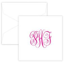Gift Enclosures with Monogram