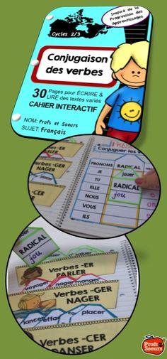 Cahier interactif: La conjugaison des verbes