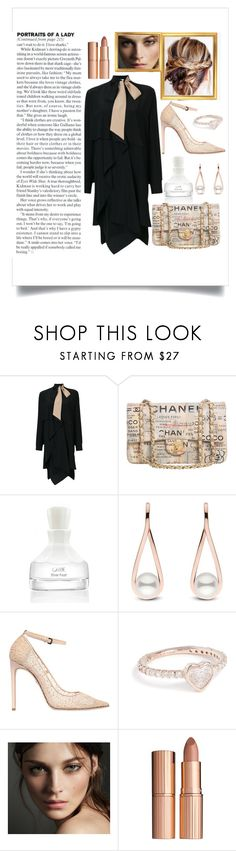 """New Year New Me : Calm like a Lady"" by nova5ta5ia ❤ liked on Polyvore featuring Fendi, Chanel, Oribe, Dsquared2, Shay, Burberry, Charlotte Tilbury, newyear and thegypsetters"