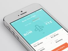 Flight Booking App #iOS #UI