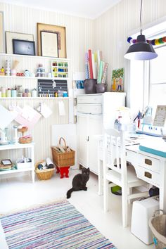 craft room / workspace
