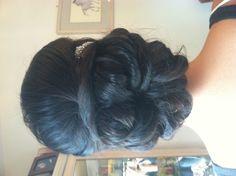 Bridal updo , wedding hairstyles , www.jenniekaybeauty.com