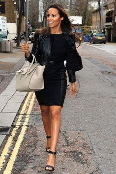 2a9d328aeb4 Rochelle Humes stuns fans as she arrives at ITV studios