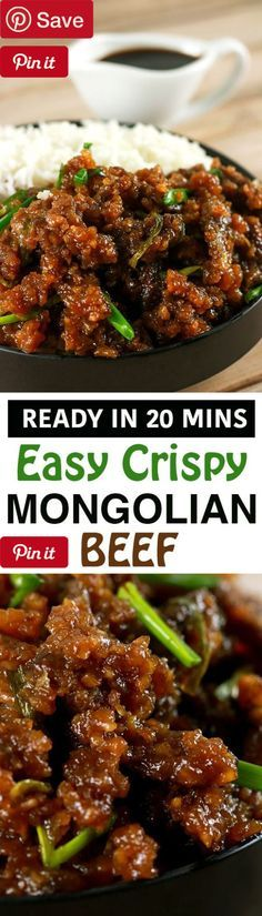 Easy Crispy Mongolian Beef 20 mins to make - Ingredients Gluten free Meat 2 lbs Beef tenderloin/beef chuck Produce 1 tbsp Garlic 1 tbsp Ginger cup Green onion 1 tsp Red chili flakes Condiments 1 tsp Hoisin sauce cup Soy sauce Baking & Spices cup Brown sugar 1 tsp Cornstarch cup Cornstarch/cornflour Oils & Vinegars 2 tbsp Cooking oil 1 Oil cup Rice vinegar Liquids cup Water