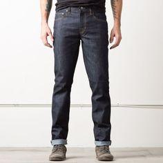 Slim 12.75oz Raw Denim Jeans in 24-dip Indigo - Timber