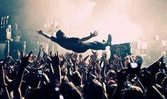 crowd surfed before. SO AMAZING