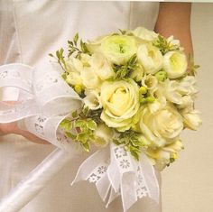 See different styles of wedding bouquets using white flowers. Wedding Bouquets Pictures, White Wedding Bouquets, Floral Bouquets, Wedding Flowers, Wedding Dresses, Ranunculus Wedding Bouquet, Wedding Inspiration, Wedding Ideas, Different Styles