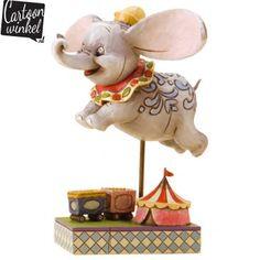 Dit prachtige Disney beeldje van het wereldberoemde olifantje Dombo is een echte must-have voor de Disney fan. Het beeldje staat mooi in de woonkamer maar is natuurlijk ook erg leuk voor op de babykamer!