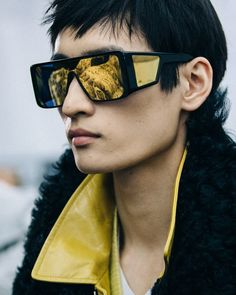 dc7d05e84142 An up-close look at the TOM FORD Eyewear from the Men s FW18 Show.  TOMFORD   TOMFORDFW18  NYFWM