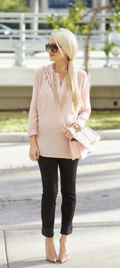 A Spoonful of Style: Blush and Black