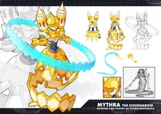 MMZX Ultimus- Mythra the Echidnaroid by ultimatemaverickx on DeviantArt