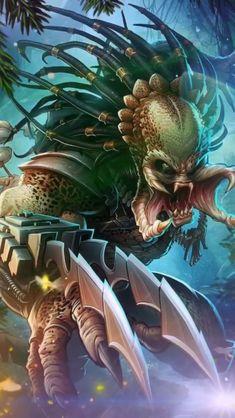 Gifs 3d, Motion Images, Image In Motion, 3d Foto, Skull Wallpaper, Alien Vs Predator, Mythical Creatures Art, Alien Art, Dark Fantasy Art