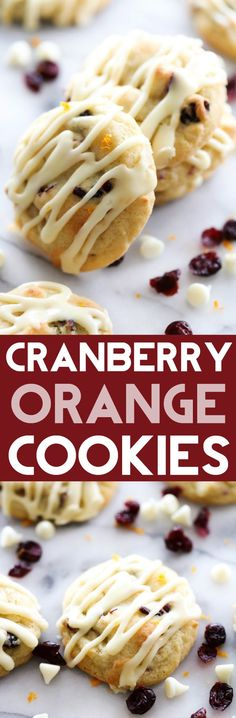These Cranberry Orange Cookies are perfection! The flavor combo is heavenly. These cookies are loaded with craisins, white chocolate and the perfect hint of orange flavor! These are a must make!