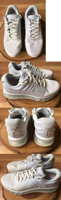 Athletic 95672: Nike Air Max 2017 Women S 849560-005 White Gray Flymesh Running Shoes Size 10 * -> BUY IT NOW ONLY: $109 on eBay!