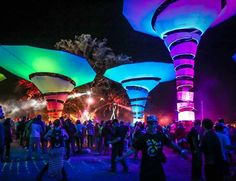Woogie Stage @ Lightning in a bottle festival. Inspiration for #meetingprofs and #eventprofs at Eventinterface.