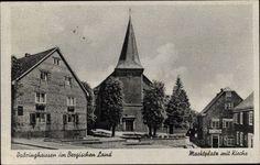 AK Dabringhausen Wermelskirchen IM Bergischen Land Marktplatz Kirche 1370686 | eBay