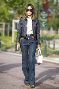 Pin for Later: The Best Street Style From All of Paris Fashion Week Paris Fashion Week, Day 9 Aimee Song.