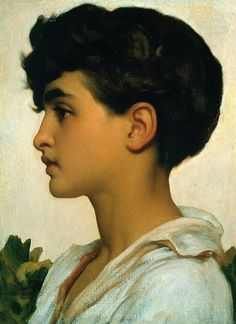 Paolo. Frederick Leighton. Download painting.